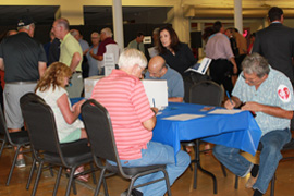 attendees at the June 2015 Public Information Meeting